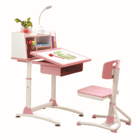 Us 1304 99 13 Off Children Furniture Sets Kids Set Lifting Table And Chair Folding Study Mesa Y Silla Infantil In