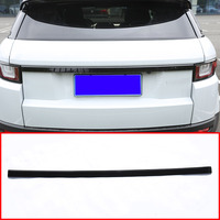 For Land rover Range Rover Evoque 2012-2017 ABS Chrome Rear Trunk Lid Trim Car-Styling