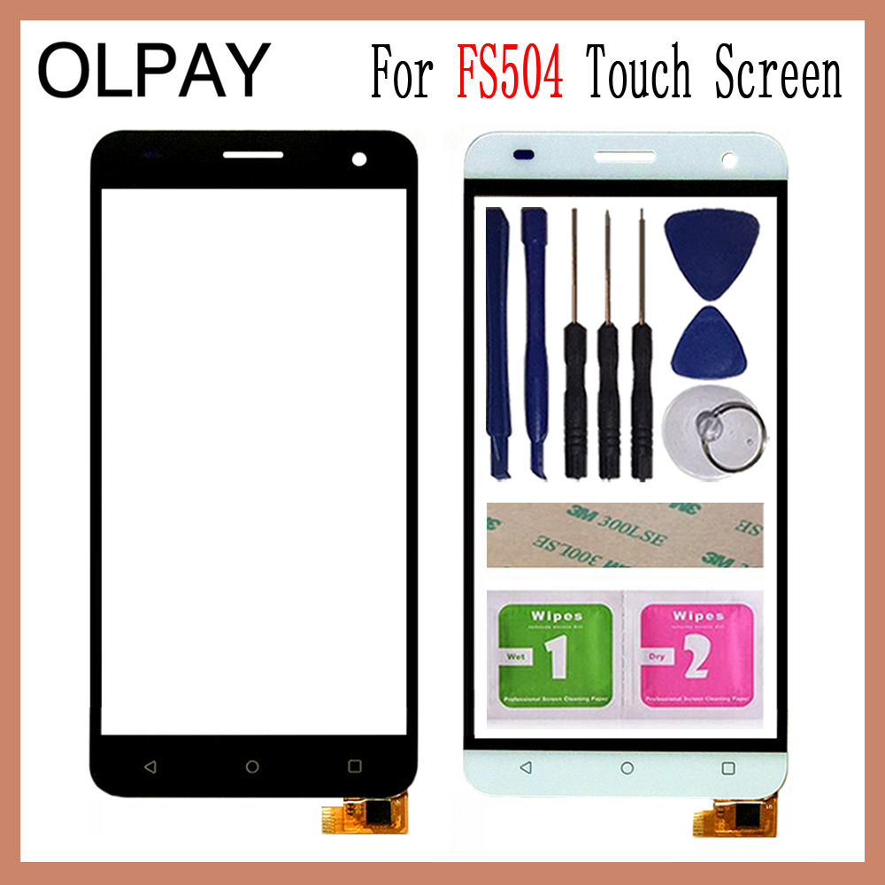 OLPAY 5.0''Mobile Touch Screen For <font><b>Fly</b></font> FS504 Cirrus 2 <font><b>FS</b></font> <font><b>504</b></font> Touch Screen Front Glass Digitizer image