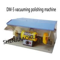 DM 5 Polishing Motor with Dust Collector double head turbine Stepless speed regulation jewelry Vacuum polisher machine