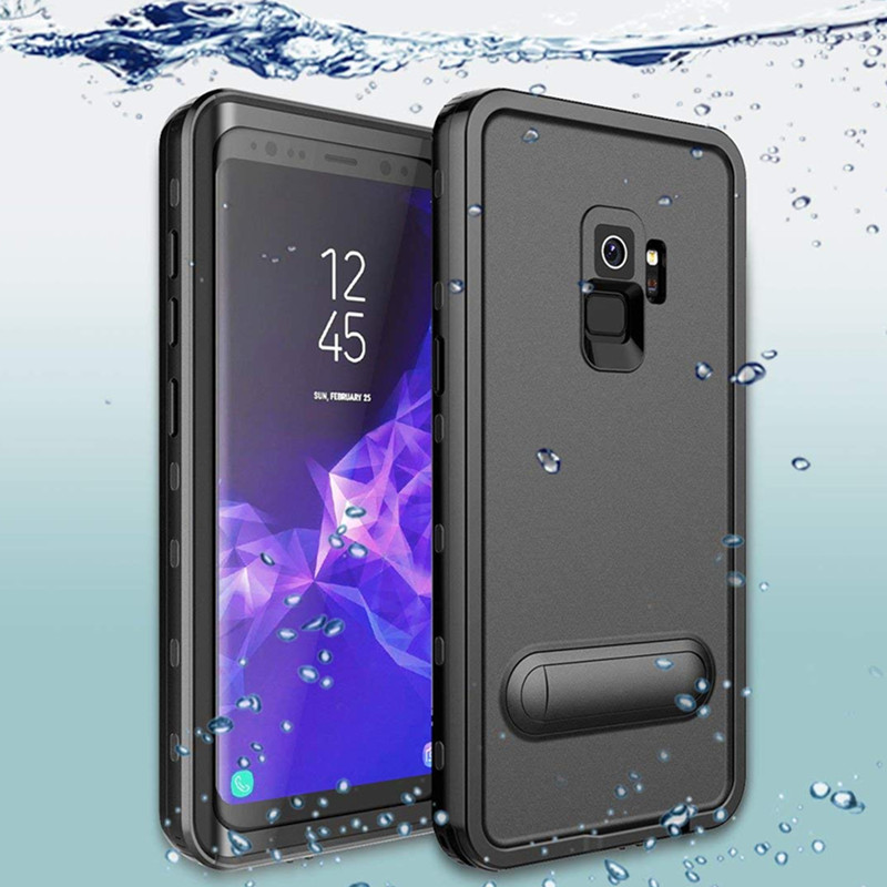 cheaper 43480 515ab Redpepper Waterproof Samsung Galaxy S9 S8 Plus Shockproof Cases For Samsung  Note 9 8 Waterproof Cover Case Swimming Bag
