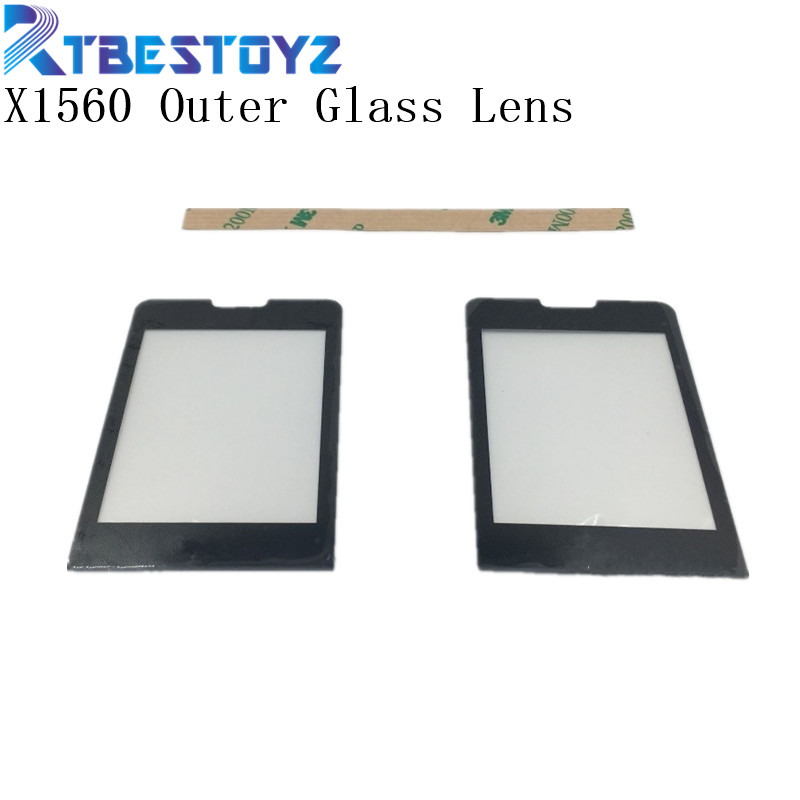 RTBESTOYZ Black Screen For <font><b>Philips</b></font> Xenium <font><b>X1560</b></font> Glass lens Panel NOT Touch Screen Digitizer Replacement + Tracking image