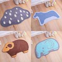 50x80cm Cartoon Doormat Anti slip Floor Mat Porch Living Room Kitchen Carpet Toilet Bath Mats Shower Pads Non slip Bathroom Rug