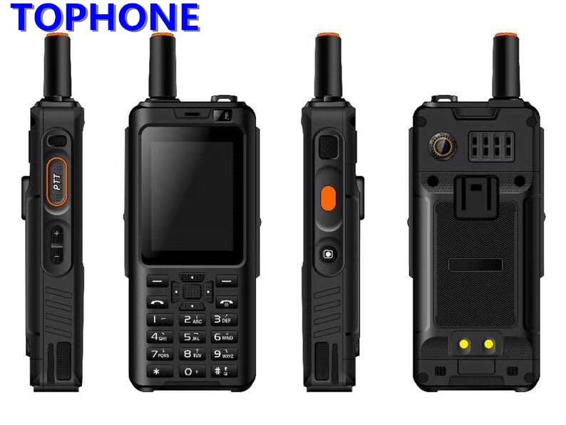 Originale 7 s IP68 Impermeabile PTT Zello Walkie Talkie Rete citofono 4000 mah 4g LTE Android6.0 1 gb + 8 gb GPS Smartphone PK F25 F22