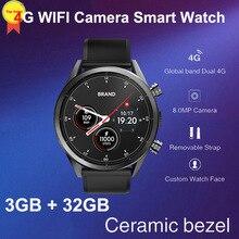 8MP Камера quad core 3g + 32G 1,39 »amoled Смарт-часы Для мужчин sim карты gps google map 4G WI-FI деловые умные часы Роскошный дизайн 2019