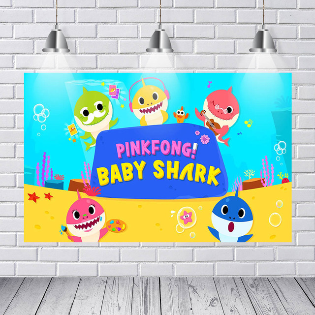 mehofoto photography backdrops poster home decoration pinkfong baby