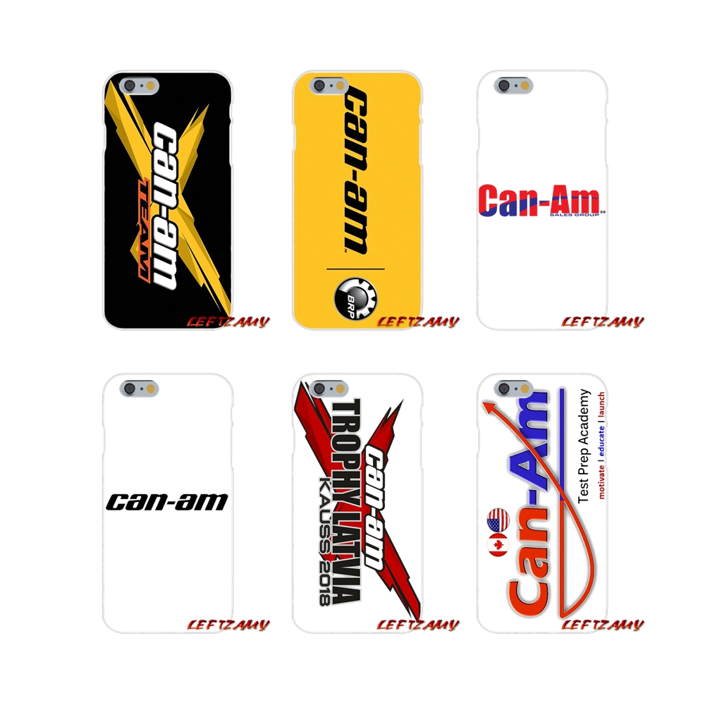 For Brp Can Am Can-am Team Accessories Phone Shell Covers For iPhone X XR XS MAX 4 4S 5 5S 5C SE 6 6S 7 8 Plus