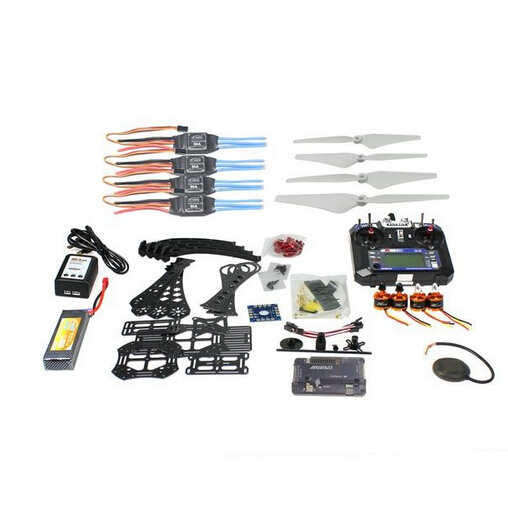 все цены на DIY RC Drone Quadcopter Full Kit RTF X4M380L Frame Kit APM 2.8 GPS Flysky Remote Controller Transmitter Receiver Battery Charger онлайн