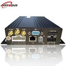 SD card cellular dvr automotive video 3G GPS cctv monitor host 4CH mdvr direct provide college bus / Van
