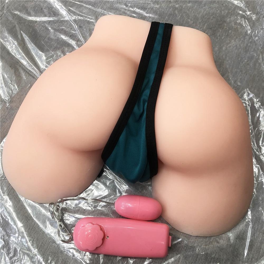 2.2 kg chair ass silicone pussy anus vagin artificiel japonais poupée de sexe masculin masturbateur sex machine avec vibrant bullet