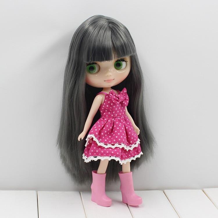 Middie Blythe Doll Grey Hair 20cm 1