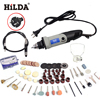 HILDA 400W 220V Mini Electric Drill With Flexible Axle And 94 Pcs Accessories For Dremel Rotary