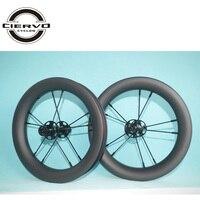 380 г 12 дюймов 25 мм x 30 мм бескамерная покрышка баланс карбоновые велосипедные колёса 12 детский велосипед
