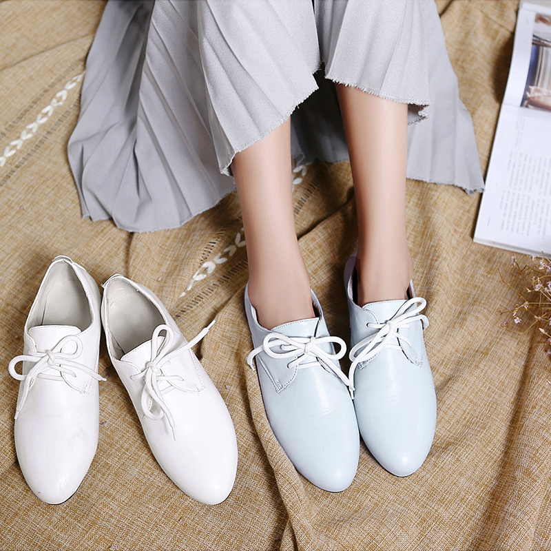 Women Shoes Genuine PU Leather Oxford Shoes For Women Flats Loafers Shoes Woman Moccasins Flats Zapatos Mujer Big Size 33-47 new 2016 women shoes fashion genuine leather oxford shoes for women flats shoes woman moccasins ladies shoes zapatos mujer 35 40
