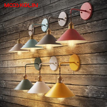 Vintage Plated Industrial Wall Lamp Retro Loft LED Wall Light Lamparas De Pared Hallway Stairs Iron Wall Sconce Abajur Luminaria