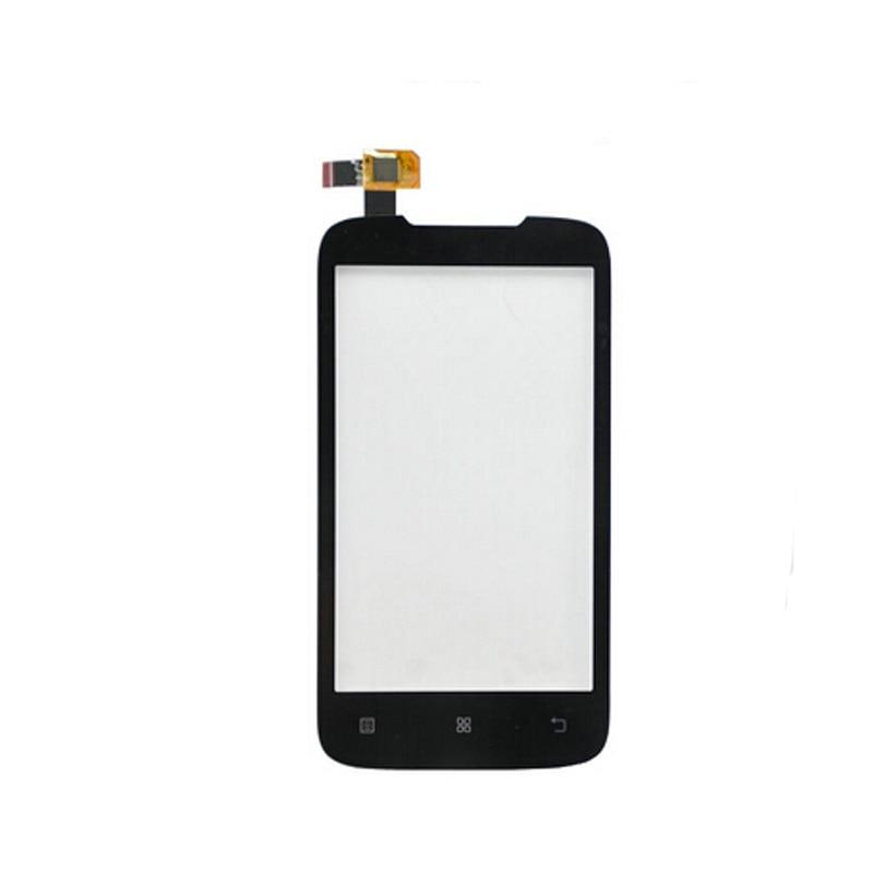 For Lenovo A369 A369i High Qaulity Front Glass Len Panel Touch Screen Digitizer Black аксессуар чехол lenovo k10 vibe c2 k10a40 zibelino classico black zcl len k10a40 blk