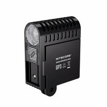 NITECORE Ultra-versatile action camera light 360 Lumens USB Charging GP3/GP3 CRI with NLGP3 Battery Outdoor Camping Light