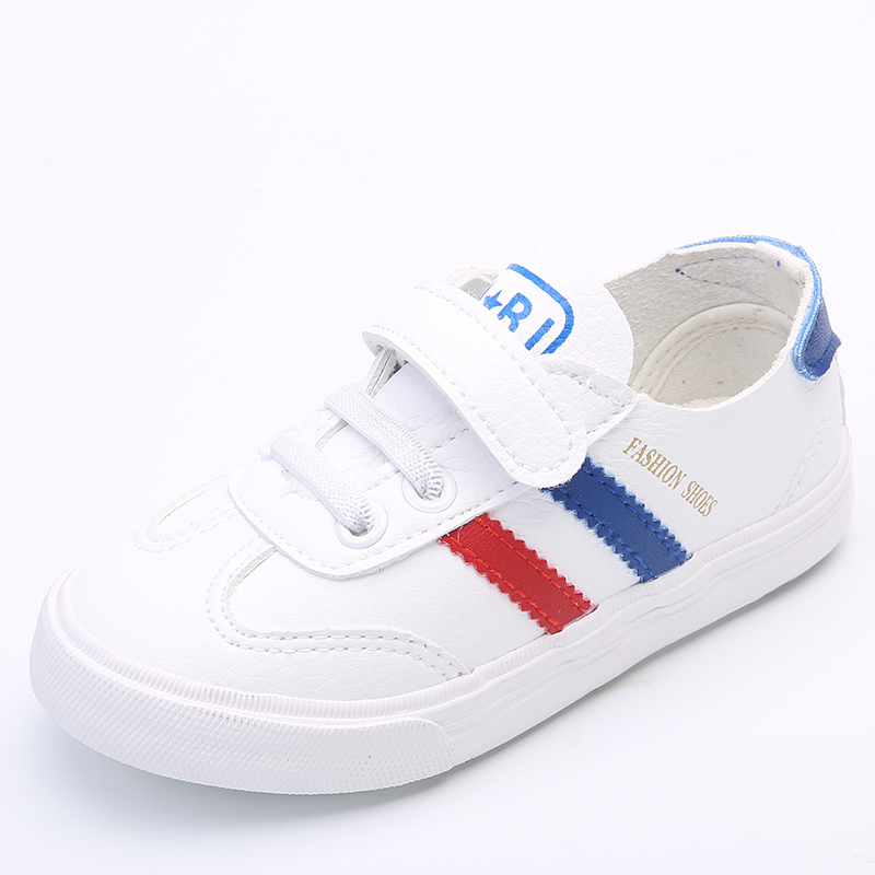 2017 Girl Children's Shoes Catamite Children Spring And Autumn Sneakers Spring Leisure Time Tide Shoes Small White Single Shoes retro table bread glass vegetables fruits hand painted restaurant mural kitchen living room custom wallpaper