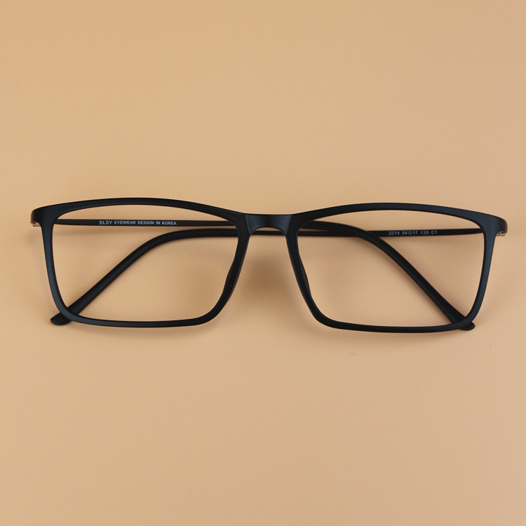Glasses Frame Ultem : Fashion Men Oversized Square Ultem Tungsten Glasses Frame ...