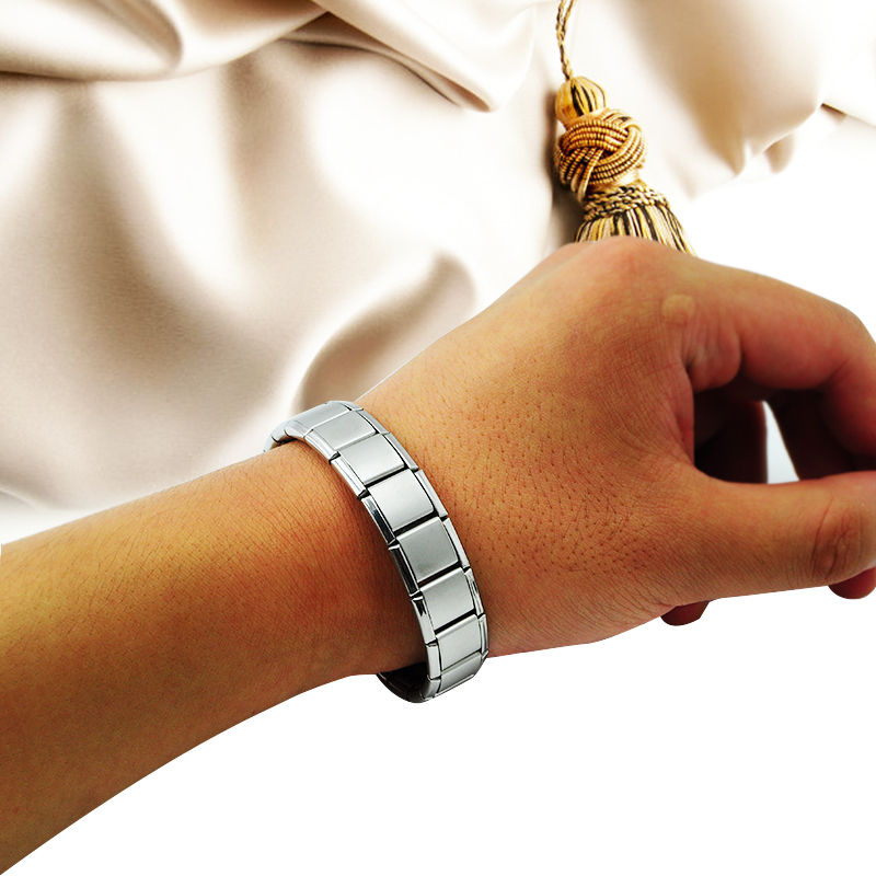 Health Care Professional wholesaler Power Nano Energy Germanium Magnetic Silver Titanium Bracelet обувь для легкой атлетики health 160
