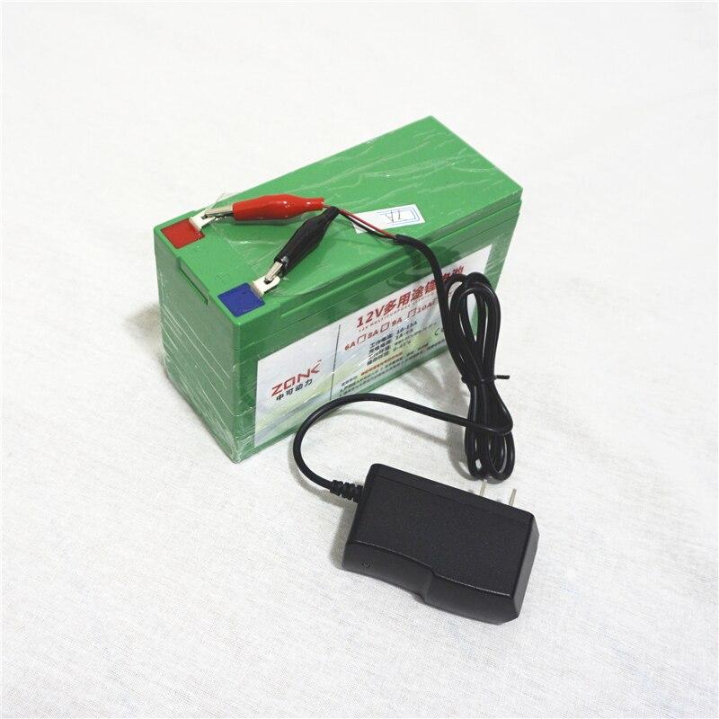 Pour LG 12 V 12AH, 11AH, 10AH, 9AH, 8AH li-ion lithium ion Batteries rechargeables pour batterie externe avec chargeur gratuit