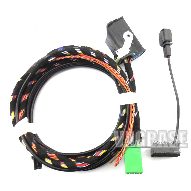 Bluetooth Module Direct Plug Harness 9w2 1k8 035 730 D Fit: Bluetooth Module Wireless Microphone Wire Harness Cable