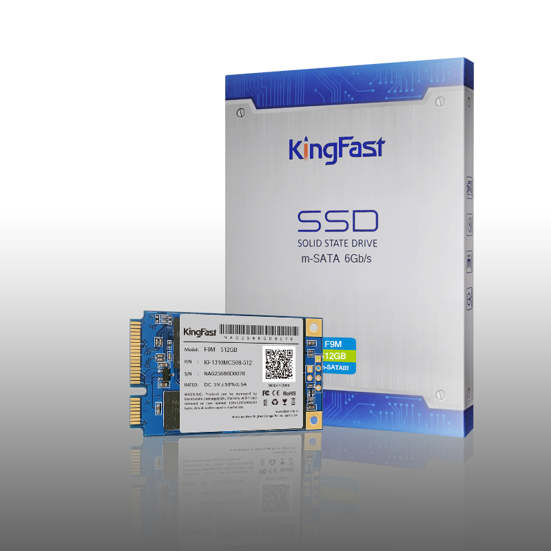 Kingfast high quality Msata SSD SATAIII internal 512G 256GB 120GB with cache Msata Solid State