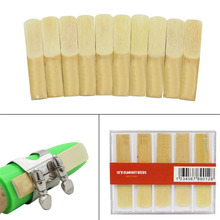 High Quality Bamboo Reed 10Pcs/Lot Reed For Traditional bB Clarinet 2.5 Reed Bamboo For bB Clarinet Accessory Part