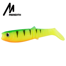 MEREDITH 10PCS 5.5g 8cm Lures Fishing Lures Synthetic delicate Fishing Baits Cannibal Fishing Fish Comfortable Lures Shads  JX62-08