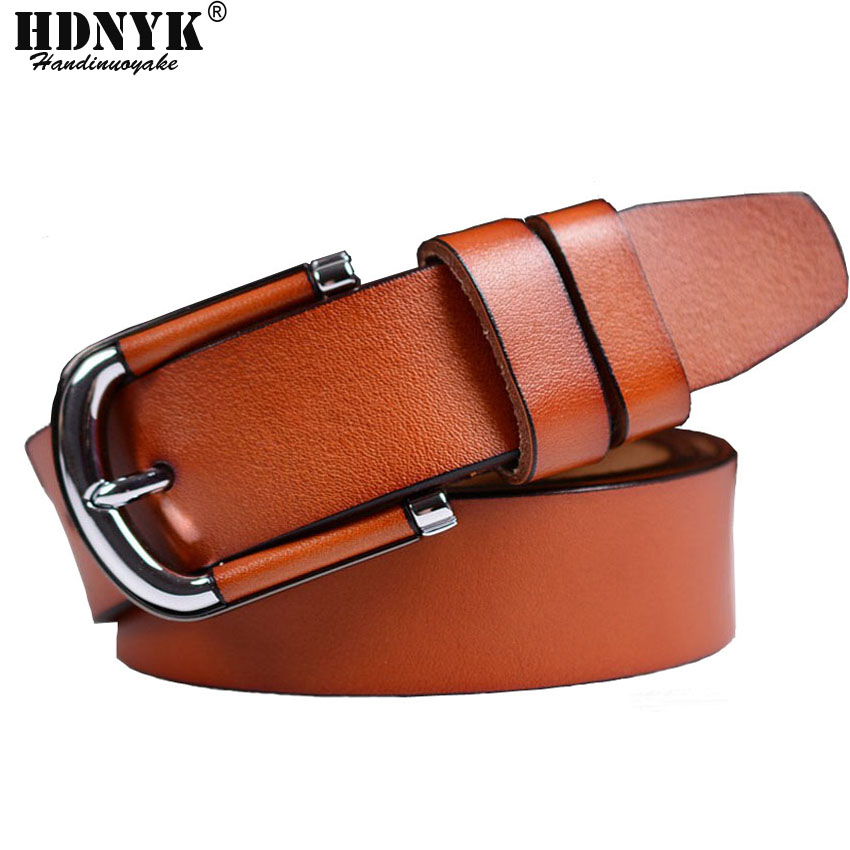 Epacket Free Shipping Brand Design Genuine Leather Womens Belts Luxury 100% Cowhide Belt Strap High Quality Belts For Female