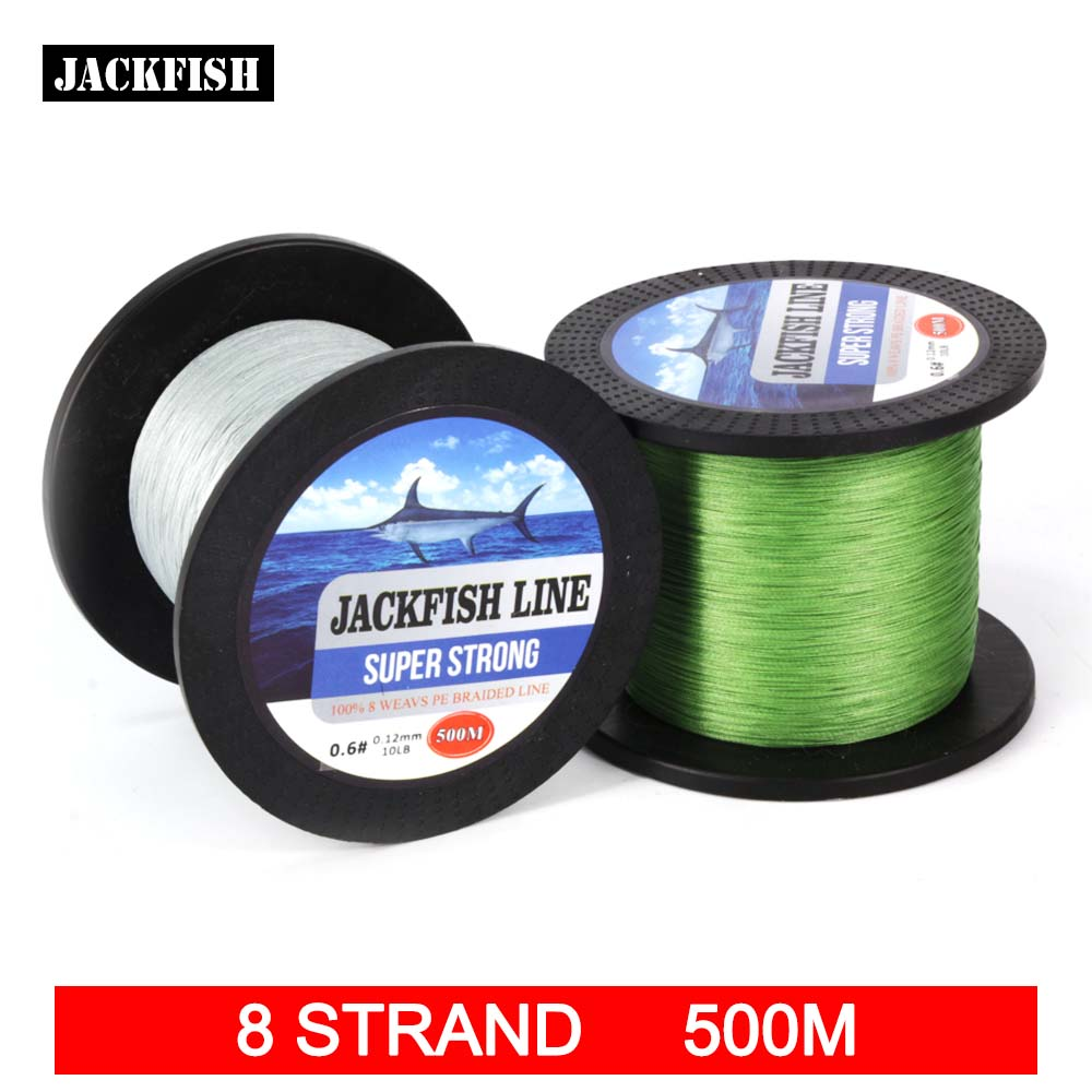 Buy jackfish 500m 8 strand brand fishing for Where to buy fishing line