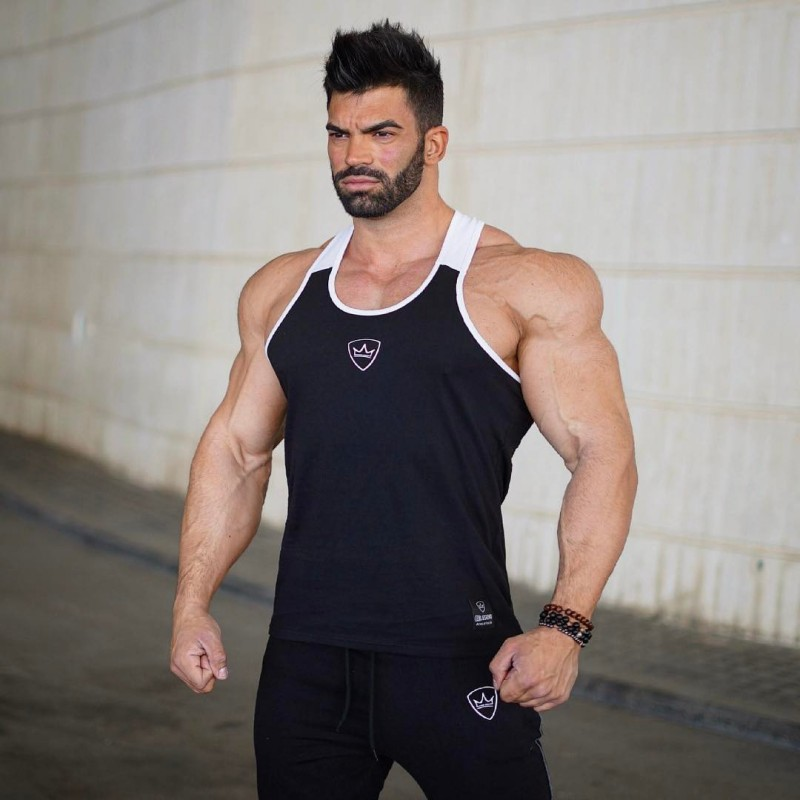 New cotton 100% Mens Running Shirts Compression Tights Gym Tank Top Fitness Sleeveless T-shirts Sport SHM Best Running VestNew cotton 100% Mens Running Shirts Compression Tights Gym Tank Top Fitness Sleeveless T-shirts Sport SHM Best Running Vest