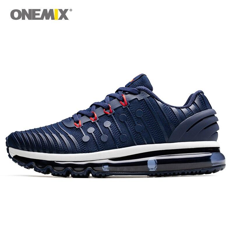 купить ONEMIX Men Running Shoes For Women Air Cushion 97 KnItting Gym Fitness Outdoor Sneakers Max 12 по цене 4068.97 рублей