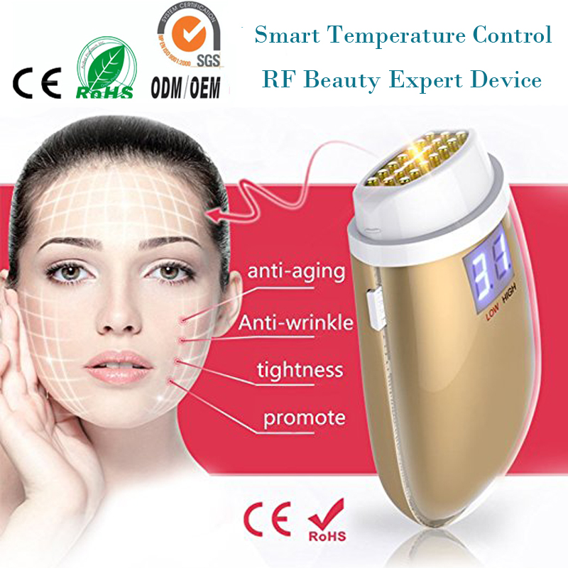 Bipolar rf Radio Frequency Double Chin Fat Wrinkle Removal Face Lift Skin Tightening Facial Rejuvenation Warming Beauty Device mini portable usb rechargeable ems rf radio frequency skin stimulation lifting tightening led photon rejuvenation beauty device