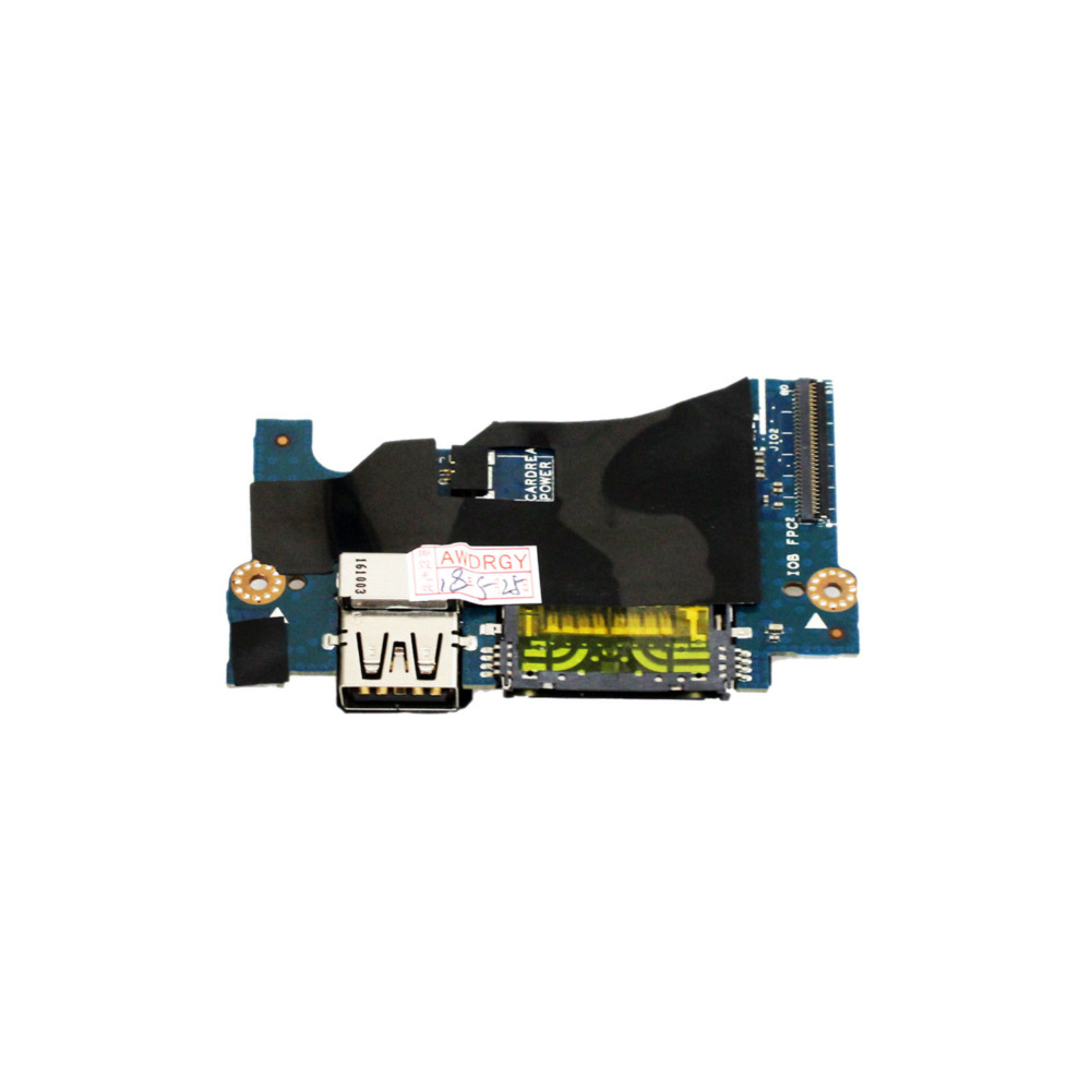 Audio Power Button Board USB SD Slot Board Y1TPF for Dell XPS 13 9343 9350 9360 LS C881P H2P6T