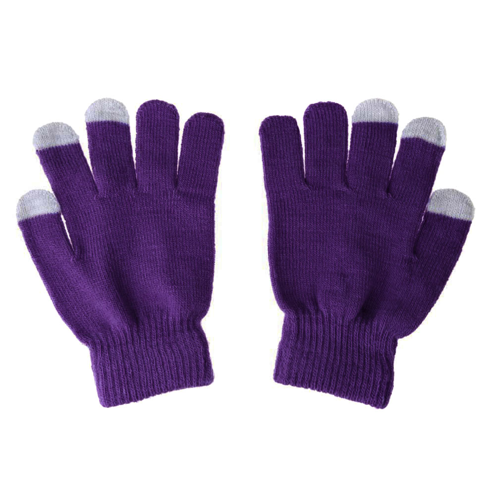 1 Pair Unisex Winter Warm Capacitive Knit Gloves Hand Warmer For Touches Screen Smart Phone  GDD99