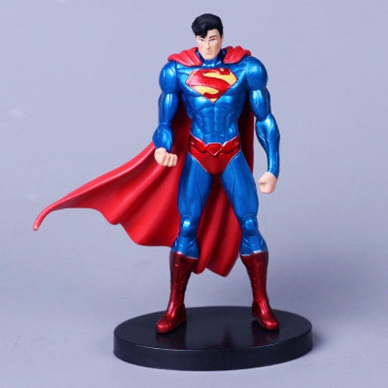 7Pcs//Set DC Comic Justice League Superman Wonder Woman Batman Action Figure Toy