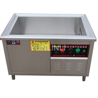 Commercial Ultrasonic Dish Cleaner 25KHz Ultrasonic Dish Washer Automatic Ultrasonic Dish Cleaner DKX 600