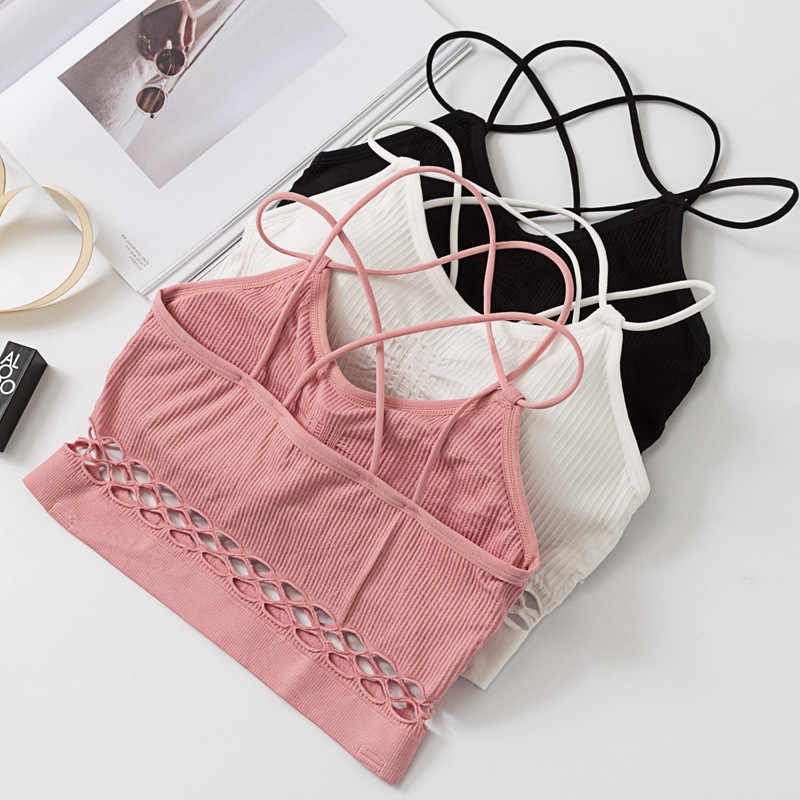 SP & CITY Спортивная стильная повязка, дизайн, сексуальный бюстгальтер для женщин, модные бюстгальтеры с пуш-ап, хлопковый топ, женское нижнее белье, летняя обернутая грудь