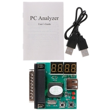 4 Digit Code PC Analyzer PCI Card PC Motherboard Analyzer Diagnostic Post Tester For Laptop/PC(China)