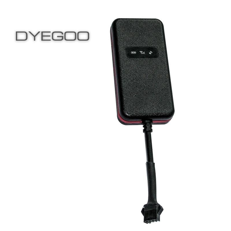 Garanterad 100% 4 band bil GPS spårning GT003 Google länk GPS data hög hastighet plattform fri frakt