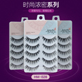 New arrival long thick women makeup 3 set/lot(15 pairs) false eyelashes high quality soft hand made eyelash extension