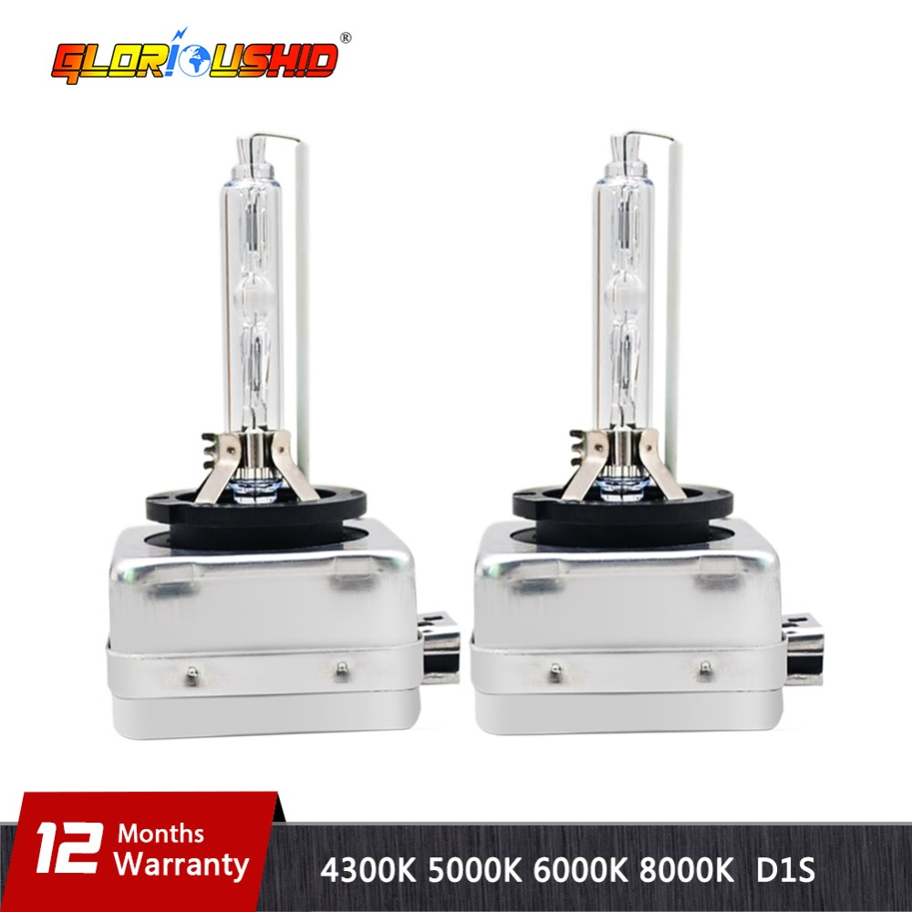 One Pair 35W <font><b>Xenon</b></font> Lamp <font><b>D1S</b></font> D1C Car Bulb Replacement 4300k 5000k <font><b>6000k</b></font> 8000k HID <font><b>Xenon</b></font> Light image
