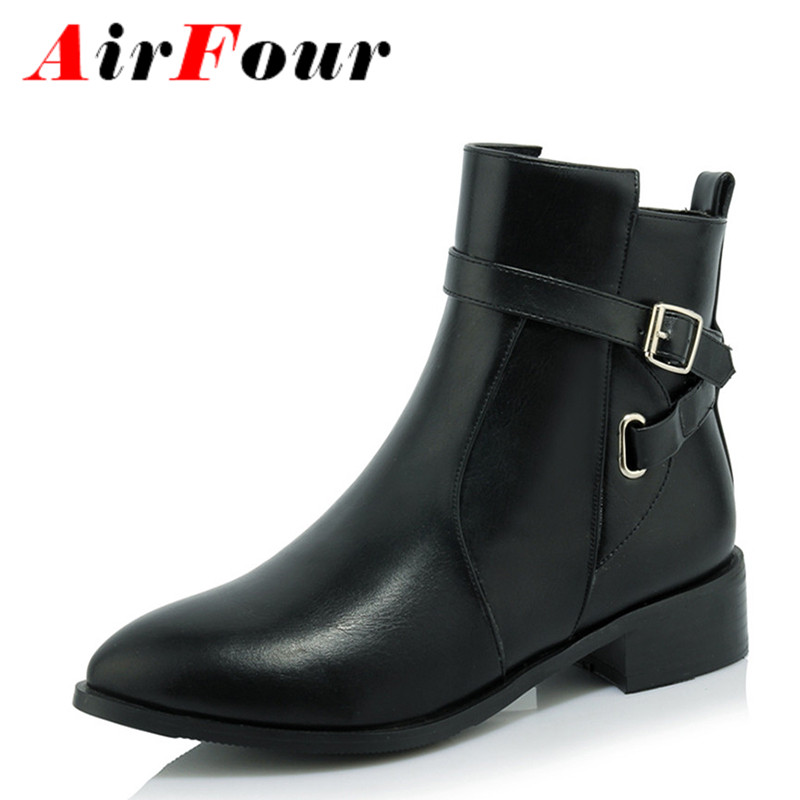 Popular Low Heel Pointed Toe Boots-Buy Cheap Low Heel Pointed Toe ...