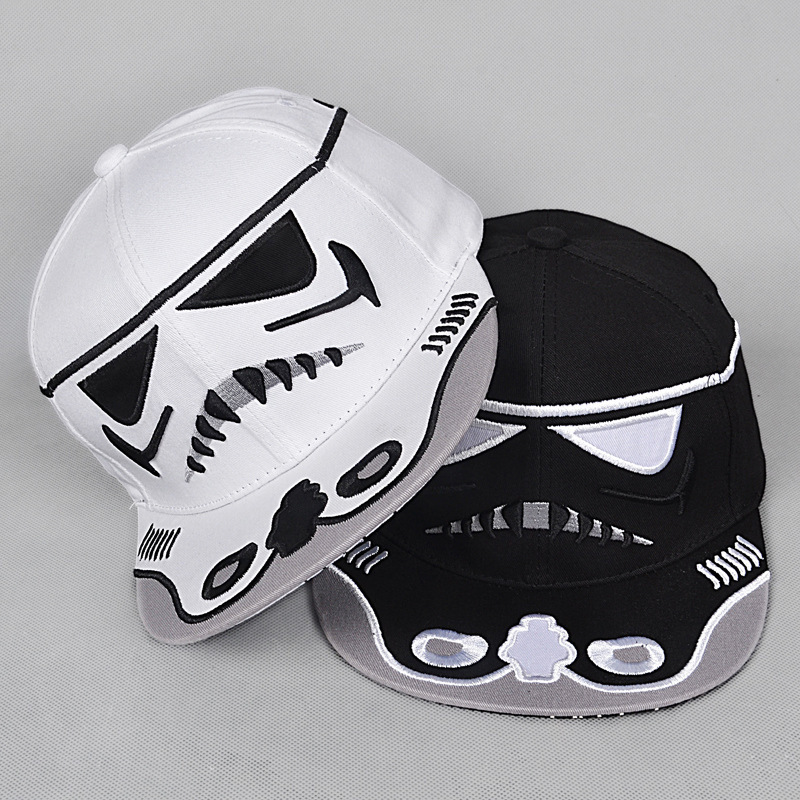 51b8b10a4d3 Sale 50% Brand Star Wars Snapback Caps Cool Strapback Letter Baseball Cap  Bboy Hip hop Hats For Men Women fitted hats-in Baseball Caps from Apparel  ...