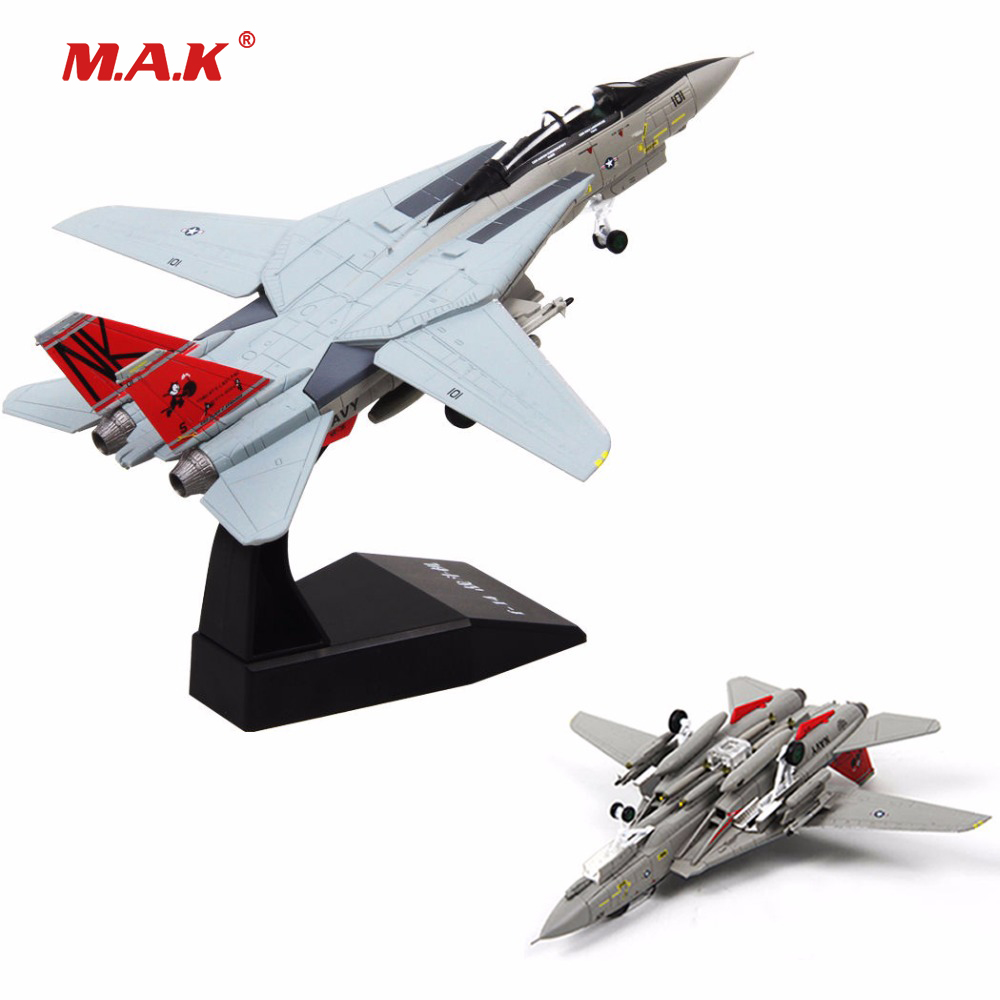 kids toys 1/100th Tomcat U.S. Aircraft Grumman F-14 Fighter Air Force Aircraft Model Model Toy Collection Christmas gift аэрострел 1 toy т56150 air fighter