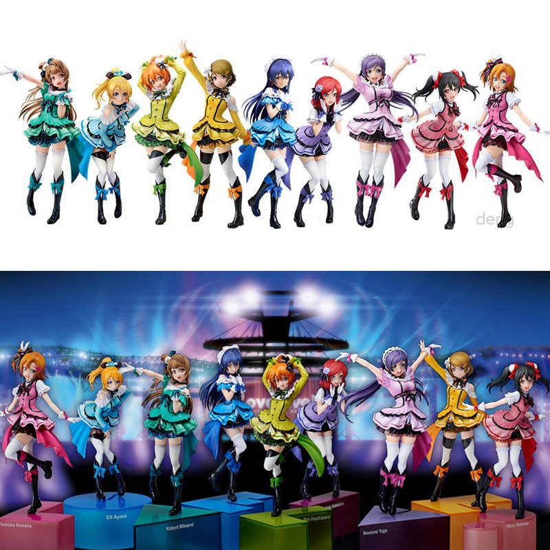 18-21 centimetri Amore In Diretta Nozomi Umi Sonoda Kotori Maki Progetto Di Compleanno ragazze Sexy Anime IN PVC Action Figure giocattoli anime figura Giocattoli regalo