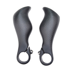 3K Finish Bar Ends Carbon Fiber Handlebar MTB End
