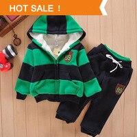 Boys Girls Children Hoodies Winter Wool Sherpa Baby Sports Suit New 2014 Jacket Sweater Coat Pants
