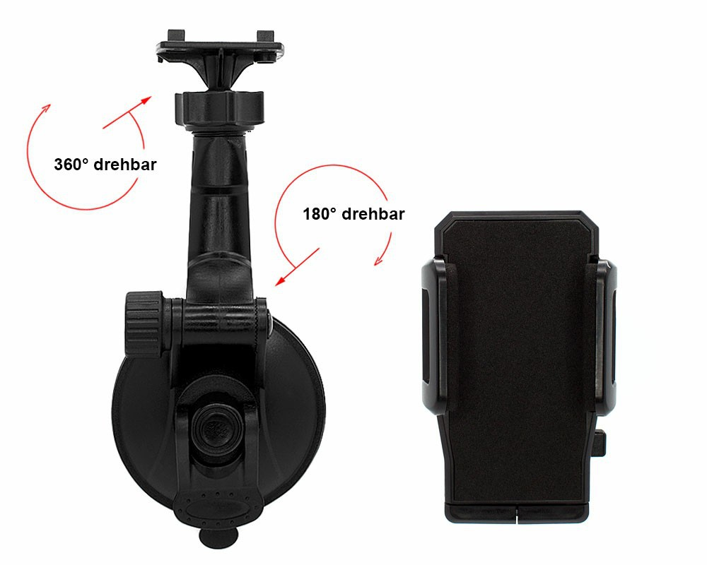 Free Shipping 360 Rotary Windshield Car Phone Mount Holder
